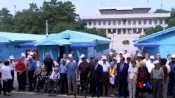 2015-07-28 美國之音視頻新聞:韓戰退伍軍人訪問板門店停戰村