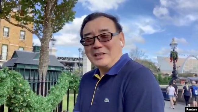资料照:澳大利亚华裔作家杨恒均 (图片来源 杨恒均推特)