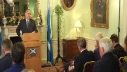 世界領導人對蘇格蘭沒有選擇獨立表示歡迎
