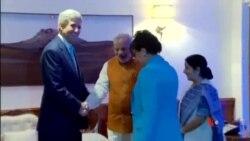 2014-08-01 美國之音視頻新聞: 克里見印度總理敦促支持世貿組織改革
