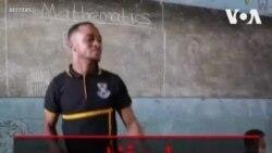 معلم غنایی کلاس درس را به رقص تبدیل کرد