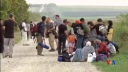 2015-09-16 美國之音視頻新聞:進入匈牙利難民人數驟減 難民潮或南移