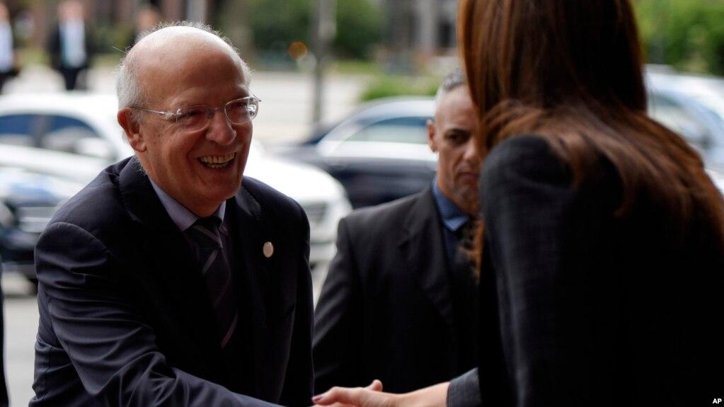 Bộ trưởng Ngoại giao Bồ Đào Nha Augusto Santos Silva