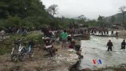 北韓洪災後正在展開救災行動