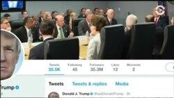 Страсть Трампа к «Твиттеру»