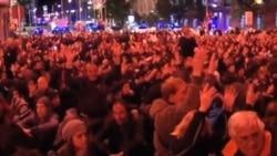 數千西班牙人在馬德里抗議緊縮措施