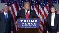 Ijambo rya Donald Trump amaze gutsindira umwanya wa Perezida w'Amerika