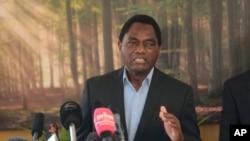 UMnu. Hakainde Hichilema.