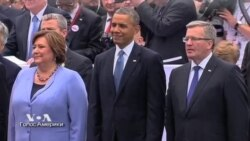 Обама и союзники в Европе