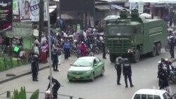 La police déployée à Douala pour empêcher une manifestation de soutien aux anglophones (vidéo)