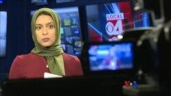 Hijab ေခါင္းစည္းပ၀ါနဲ႔ ရုပ္သံသတင္းေထာက္