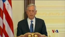 马蒂斯:如俄罗斯行为不改 美国将继续制裁