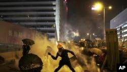 Sukob policije i demonstranata u Hong Kongu