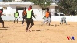 Match de foot en Libye entre migrants camerounais et sénégalais (vidéo)