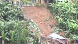 Des glissements de terrain provoqués par des pluies torrentielles causées la vie a 49 persones