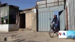 دختر بایسکلران شهر مزار شریف: هدفم ایجاد تغییر در افکار مردم است