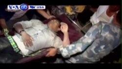 Nhân viên cứu hộ Mỹ đến Nepal tham gia nỗ lực cứu trợ (VOA60)