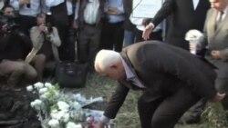 樂蜀哀悼19 名熱氣球事故死亡的遊客