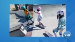 Como a prática do skate está a influenciar um grupo de crianças e jovens no bairro Khongolote?