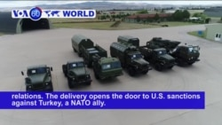 VOA60 World PM -Turkey Challenges US as Russian Missiles Arrive