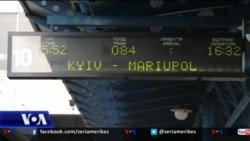 Përmes Ukrainës me tren drejt Mariupolit