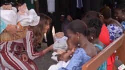 First Lady Begins Africa Trip