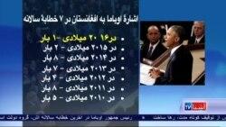 دلیل ذکر قلیل افغانستان در خطابۀ اوباما چه بود؟