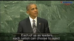 President Obama's Last Speech to the United Nations General Assembly