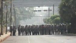 不畏軍事政變一個月來最血腥鎮壓 緬甸民眾繼續上街示威