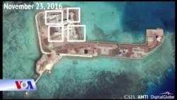 Trung Quốc lắp đặt hệ thống phòng thủ trên đảo nhân tạo