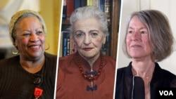 از شانرده زن برنده نوبل ادبیات، سه نفر آمریکایی هستند