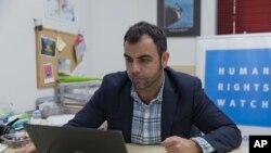 """Umar Shokir, """"Human Rights Watch"""" tashkilotining Isroil va Falastin bo'yicha idorasi direktoridir"""