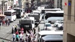 Türkiyə polisi Şənbə Anaları qrupunun nümayişini dağıdıb