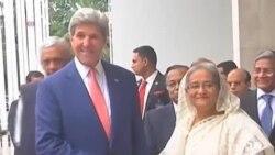 美國國務卿克里訪問孟加拉重點在反恐