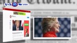 Bà Hillary Clinton dự kiến công bố tờ khai thuế 2015 vài ngày tới (VOA60)