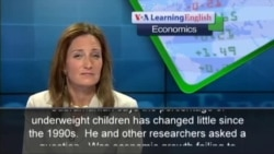 Does a Fast-Growing Economy Mean Healthier Children?