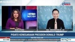 Laporan Langsung VOA untuk MetroMalam: Pidato Kenegaraan Presiden Trump