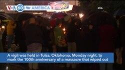 VOA60 America - Biden to Visit Oklahoma on 100th Anniversary of Tulsa Race Massacre