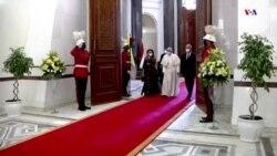 Հռոմի Ֆրանցիսկոս պապն այցելել է Իրաք և հանդիպել նախագահ Բարհամ Սալեհի հետ
