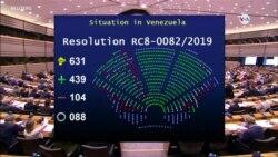 Parlamento Europeo reconoce a Guaidó como presidente interino