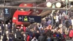 法國鐵路工人罷工 抗議政府改革計劃