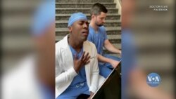 Співаючий лікар покликаний дарувати надію. Відео