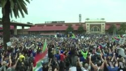 En Afrique du Sud l'opposition encore dans la rue contre Zuma (vidéo)