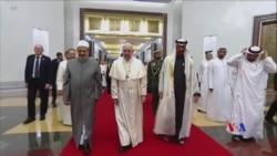 2019-02-04 美國之音視頻新聞: 方濟各成為首名訪問阿拉伯半島的天主教教宗