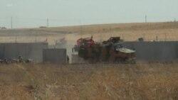 美國和土耳其軍隊首次在敘利亞東北部聯合巡邏