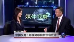 媒体观察:中国反腐:断崖降职阻断贪官仕途