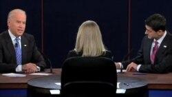 焦点对话: 瑞安和拜登辩论对决,谁赢了?