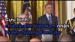 Cựu binh chiến tranh Việt Nam nhận Huân Chương Danh Dự