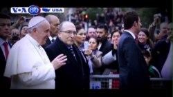 Bắt giữ thiếu niên âm mưu tấn công Đức Giáo Hoàng (VOA60)