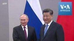 Vladimir Poutine et Xi Jinping se rencontrent avant le sommet des Brics